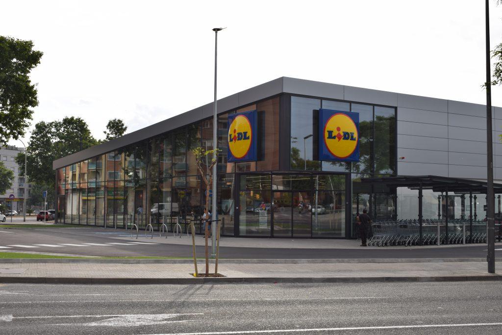 Const cnia completes the works at the lidl supermarket in reus const cnia empresa constructora - Constructora reus ...